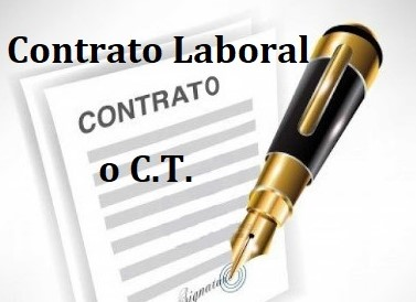 C T Contrato Trabajo